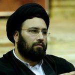 سید علی خمینی نوه امام خمینی (ره) در لباس احرام