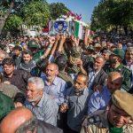 تشییع پیکر شهید حسن جنگجو پس از ۳۴ سال!