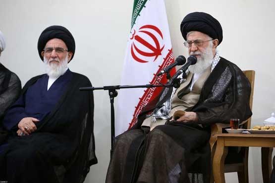 دیدار اعضای مجمع تشخیص با رهبر