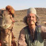 سلفی های دو نفره عجیب و جالب ارژنگ امیرفضلی با شتر!!