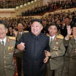 تفریح دانشمندان هسته ای کره شمالی در شهربازی!