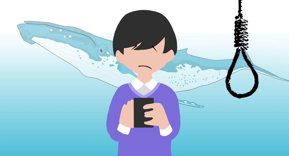 واکنشهای طنز و جالب کاربران به چالش پرتنش نهنگ آبی