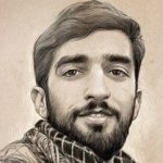 سلفی دانشجویان جدیدالورود با شهید حججی!