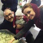 هدایت هاشمی با همسر دومش مهشید ناصری و  دخترش!