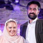 بهاره رهنما و همسرش امیر خسرو عباسی در باشگاه بدنسازی!