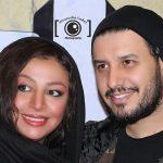 موتورسواری جواد عزتی به همراه همسرش مه لقا باقری!