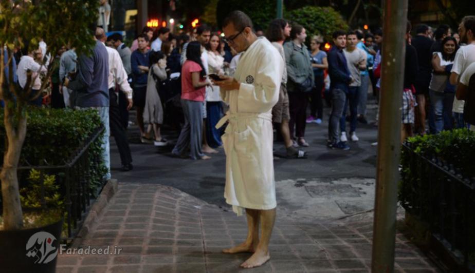 مکزیک پس از زلزله