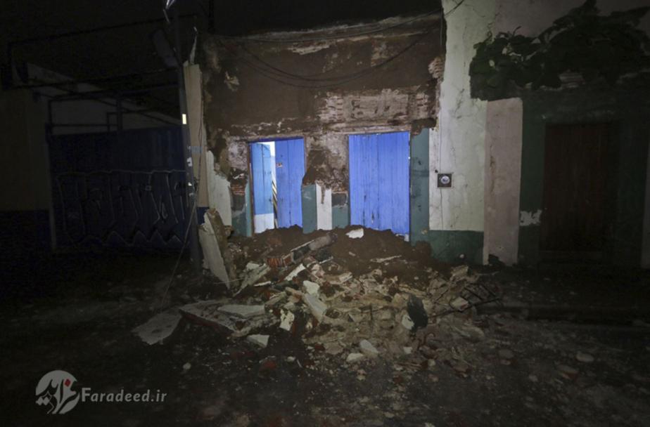 مکزیک پس از 8 ریشتر زلزله!