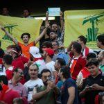نماینده زن مجلس که بازی ایران و سوریه را در استادیوم تماشا کرد!
