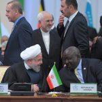 روحانی و ظریف در اجلاس قزاقستان