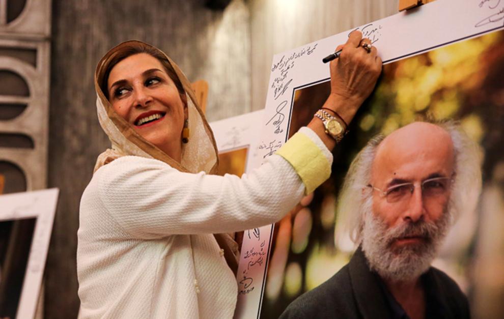 هنرمندان در جشن سینمای ایران