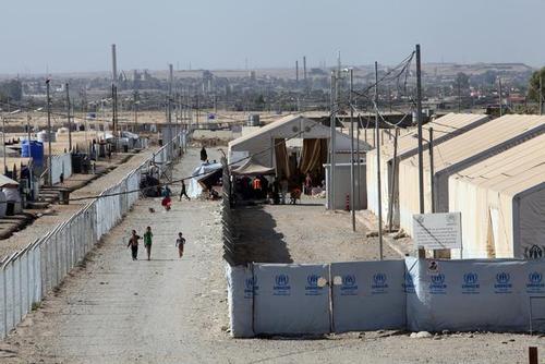 محل نگهداری زنان و فرزندان داعش