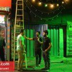 سیاه پوش کردن کوچه و محله های تهران!