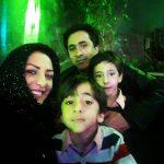 زوج محبوب خبری در جشن تولد علی پروین