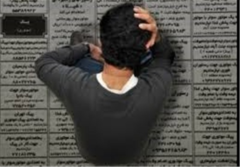 میزان بیکاری در ایران