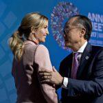 ایوانکا دختر دونالد ترامپ در نشست بانک جهانی