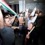 شب پر آشوب پارلمان کردستان عراق!