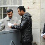 تجمع معترضان کاسپین مقابل خانه احمدینژاد!