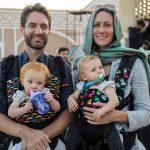 حضور گردشگران خارجی در عزاداری عاشورای حسینی