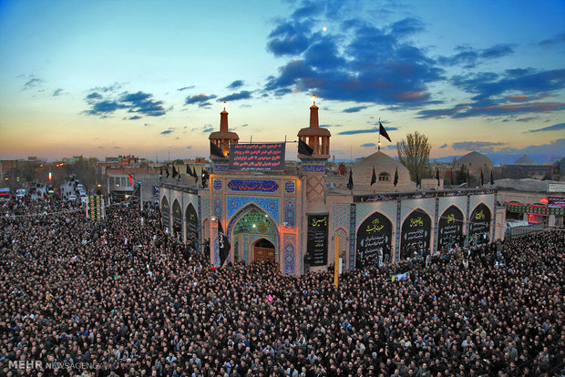 اجتماع عظیم عاشورائیان در اردبیل | فریاد یاحسین طنینانداز شد