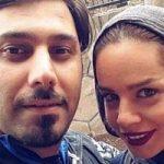 شوخی جالب احسان خواجه امیری با همسرش لیلا! + فیلم