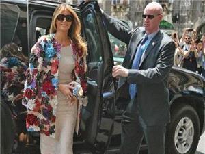 عینک آفتابی همسر ترامپ خبرساز شد!