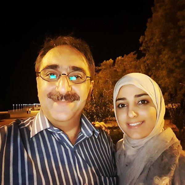 شهرام شکیبا و همسر دومش