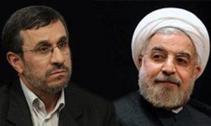 قدردانی احمدی نژاد از روحانی!