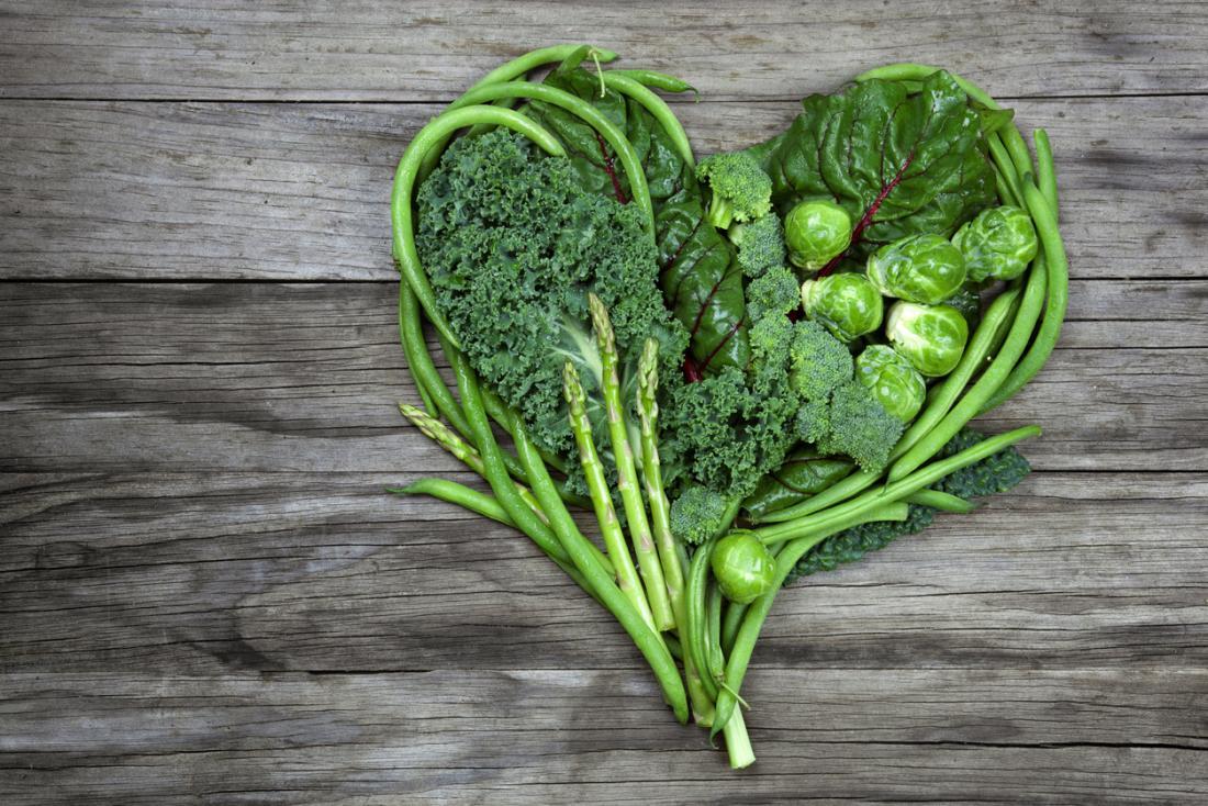سبزیجات مفید در پیشگیری از سکته قلبی