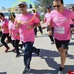 حمله قلبی، جان وزیر بهداشت را در مسابقه دو گرفت!