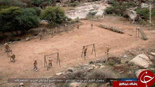 پادگان های آموزشی داعش در یمن