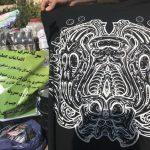 عرضه لباسهای شیطان پرستی در شمال تهران!