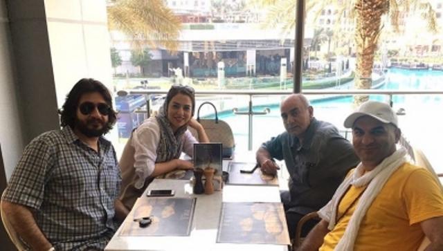 تینا پاکروان در دوبی