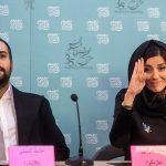 حامد کمیلی و سارا بهرامی در راه اصفهان برای اکران ایتالیا ایتالیا