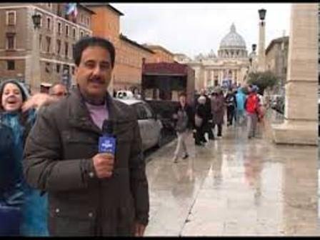 تکنیک جالب تهیه گزارش حمید معصومینژاد از رُم!