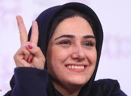 شادی باران کوثری در لباس تیم ملی فوتبال!
