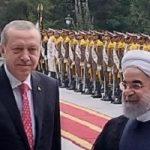 عکس رویترز از ملاقات اردوغان و دکتر روحانی