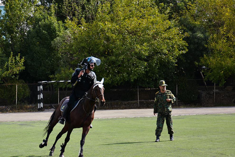 پلیس اسب سوار ایران