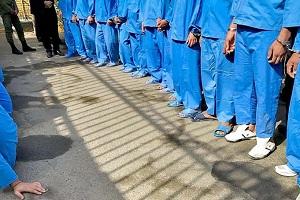 ۱۰۰ مظنون به سرقت در سرپلذهاب دستگیر شدند