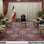 دیدار فرماندهان عالی رتبه ارتش با روحانی