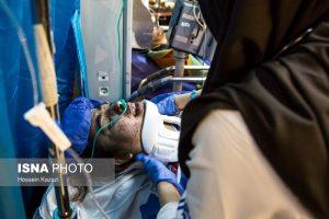 انتقال مصدومان حادثه زلزله کرمانشاه به تهران
