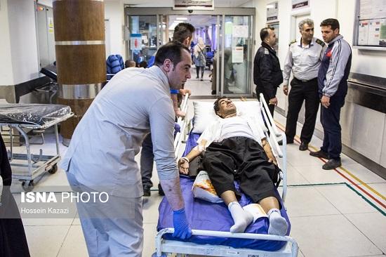مصدومان زلزله کرمانشاه