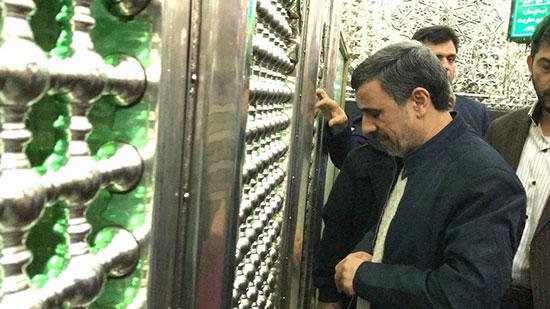 حمایت احمدینژاد از بست نشینی بقایی و جوانفکر!