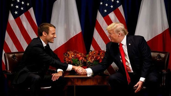 توافق روسای جمهور آمریکا و فرانسه علیه ایران