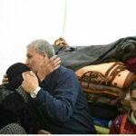 وزیر کار در چادر زلزله زدگان ازگله