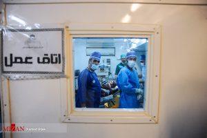 اولین جراحی مغز در بیمارستان صحرایی سرپل ذهاب!