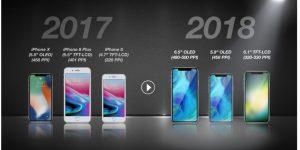 این ۳ گوشی را اپل در سال ۲۰۱۸ میسازد!