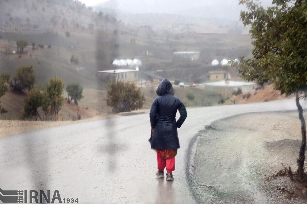 بارش باران در سرپل ذهاب