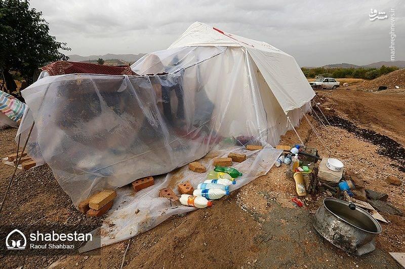 مردمان مناطق زلزله زده