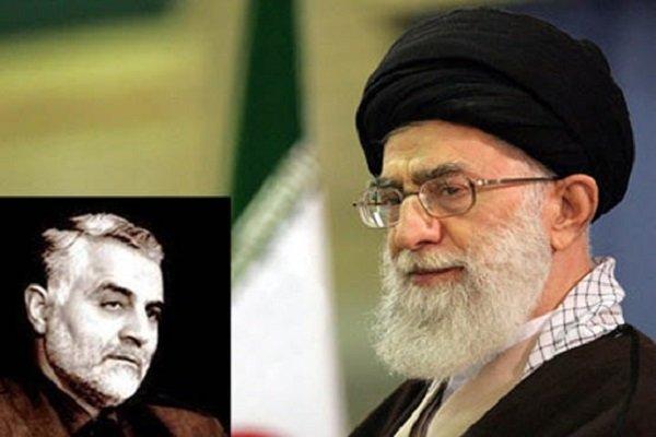 پیام تبریک سردار سلیمانی به رهبر انقلاب
